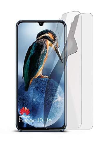 2X Huawei Honor 10 Lite | Schutzfolie Matt Bildschirm Schutz [Anti-Reflex] Screen Protector Fingerprint Handy-Folie Matte Bildschirmschutz-Folie für Huawei Honor 10 Lite Bildschirmfolie