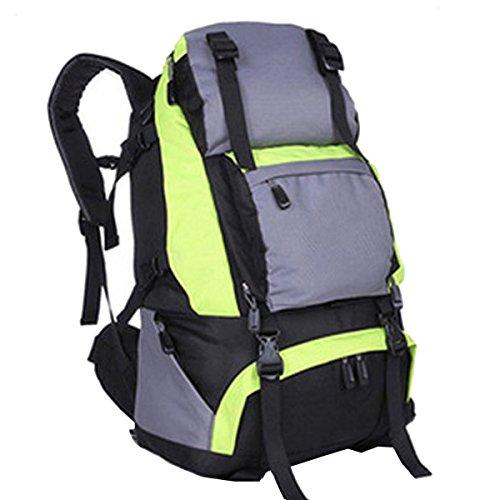 Xin.S40L Grande Capacità Zaino Da Viaggio All'aperto Borsa Da Viaggio Per L'alpinismo Tattiche Di Espansione All'aperto Zaino Sport Militari Campeggio Borsa Da Escursionismo. Multicolore Green
