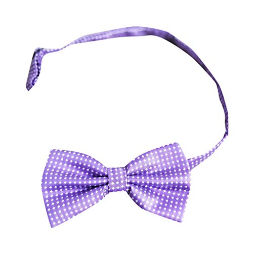Goldatila Men's Ties, Cummerbunds & Pocket Squares Men's Business Dress Bow Tie Cotton Polka Dot Bow Tie Satin Formale Tuxedo Bow Tie