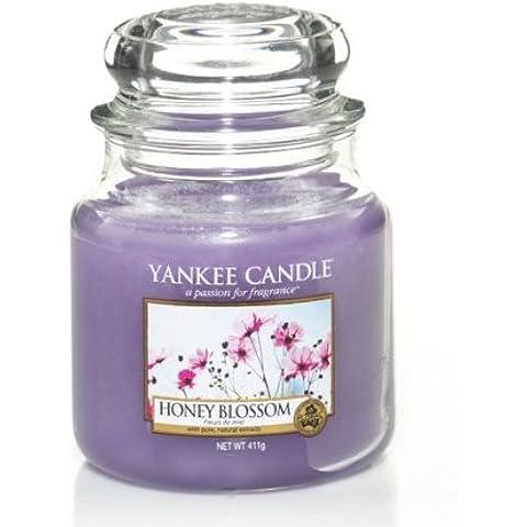 Yankee Candles Medio Vela Jar - miel de flores