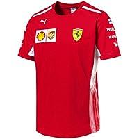 Scuderia Ferrari F1 Racing SF Team Driver Kimi Raikkonen Camiseta Oficial 2018