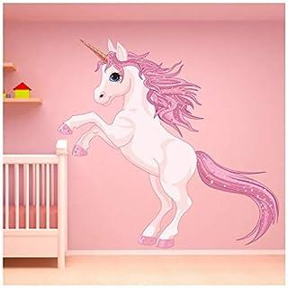 azutura Unicorn Wall Sticker Fantasy Fairy Tale Wall Decal Girls Bedroom Nursery Decor available in 8 Sizes XX-Large Digital