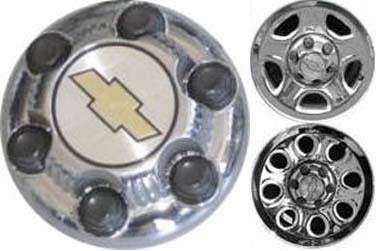 16 Inch OEM Chevy 6 Lug Chromed Center Cap Hubcap Wheel Cover, 1999-2011 # 9598133 9598135 9598137 by Chevrolet