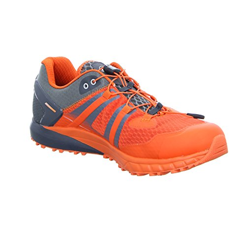 Mammut MTR 201-LL LOW Scarpe da trail running da uomo graphite-dark orange