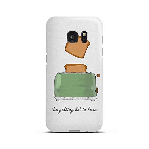artboxONE Samsung Galaxy S7 Edge Premium-Case Handyhülle It's Getting Hot in Here von Orara Studio