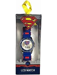 Superman LCD reloj