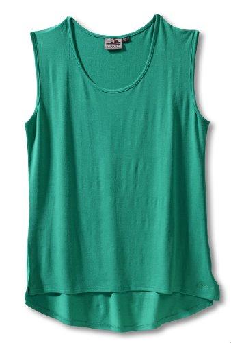 KAVU Damen T-Shirt Luna Tee, Damen, Kelly Green, X-Small -