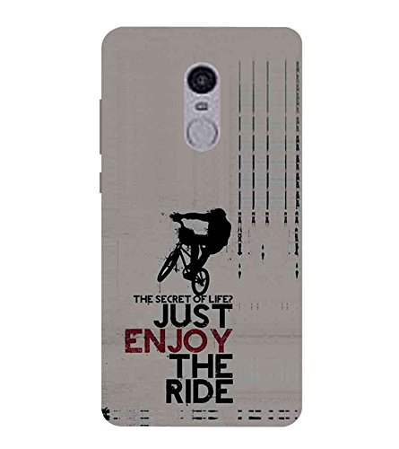 Fiobs Designer Phone Back Case Cover Xiaomi Redmi Note 4 :: Xiaomi Redmi Note 4 - 2017 ( Stunt Rider Bike Cycle Racer )  available at amazon for Rs.397