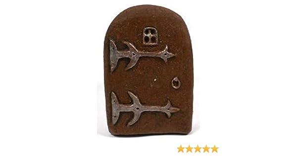 Fairy Door ASVP Shop/® Hobbit o porta fata elfo albero decorazione da giardino casa ornamento Resina taglia unica
