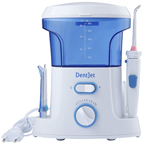 DentJet Waterflosser, irrigatore orale con 7 ugelli