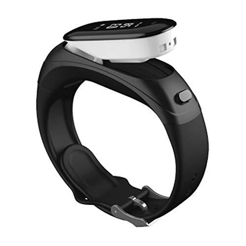 YWY Smart Watch V08 Business Intelligence Armband Wireless Bluetooth Headset Zwei-In-Eins Kann Herzfrequenz Bluthochdruck Wasserfeste Sport-Uhr Sprechen,Black