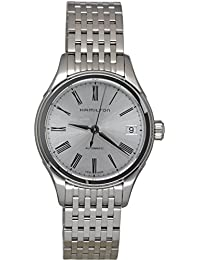 Hamilton Women's Analogue Automatic Watch with Stainless Steel Strap H39415154
