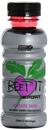 by James White NEW Beet It Sport Nitrate 3000 Super Concentrate Beetroot Juice - 1 x 25cl bottle