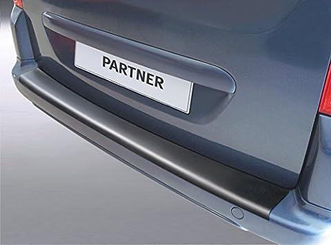 Voll ladekant Peugeot Partner et Partner Tepee 2e génération à partir de 05.2008sur mesure avec Seuil de porte protection complète RGM Protection pare-chocs pare-chocs protection