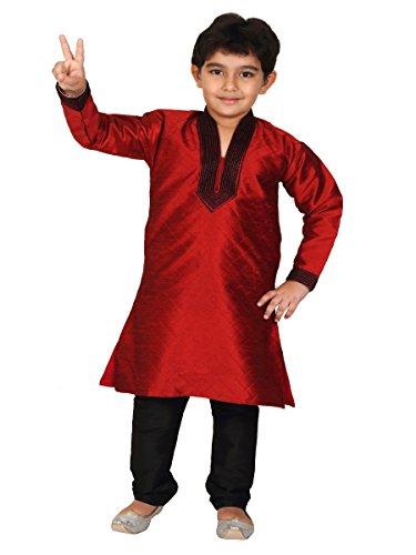 Kurta Pajama Indischen Pakistanischen Stil Jungen Kinder Sherwani Anzug Kurta Shalwar Kameez Indischen Party Tragen -