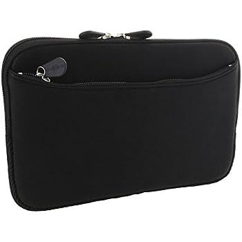 XiRRiX Tablet PC Tasche - Neopren Schutzhülle mit Fach Grösse: bis 20,32 cm (8 Zoll) für max. Abmessungen von 227 x 137 mm - Hülle in schwarz