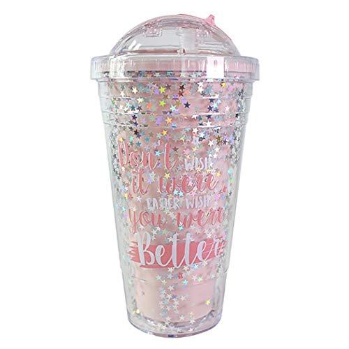 Bicchiere Tazza da Viaggio in plastica 480ml