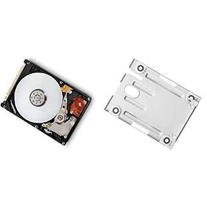 500GB Festplatte für PS3 Super Slim (12GB, CECH-4XXXA) + Einbaurahmen + Positionsschrauben