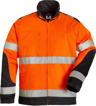 Hiviz-Jacke Patrol (orange/marineblau) XXXL (Safety Orange Jacke)
