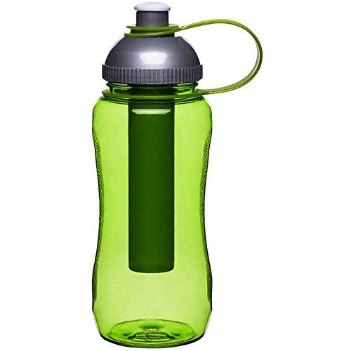 Sagaform 5016674 Fresh Flasche mit Fruchteinsatz, grün Sagaform Green
