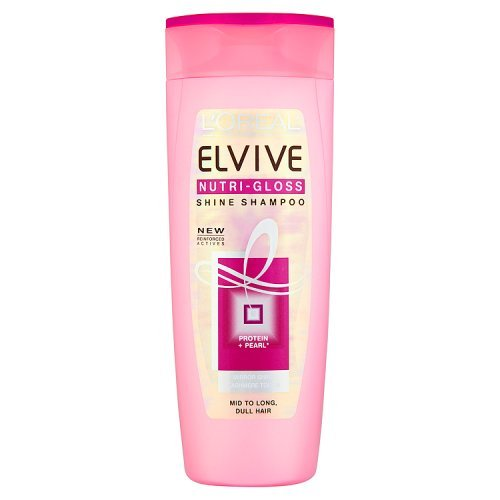 L'Oréal Paris Elvive Nutri-Gloss Shine Shampoo, 400ml