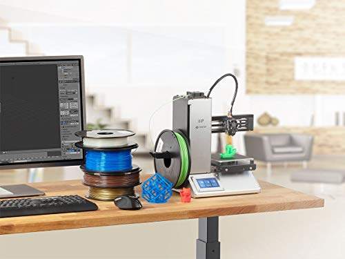 Monoprice MP Wählen Sie Mini Pro 3D Drucker - Aluminium - Auto-Level beheiztes Bett Touchscreen Wifi und Euro Power Adapter (Typ F) - 133286 - 6