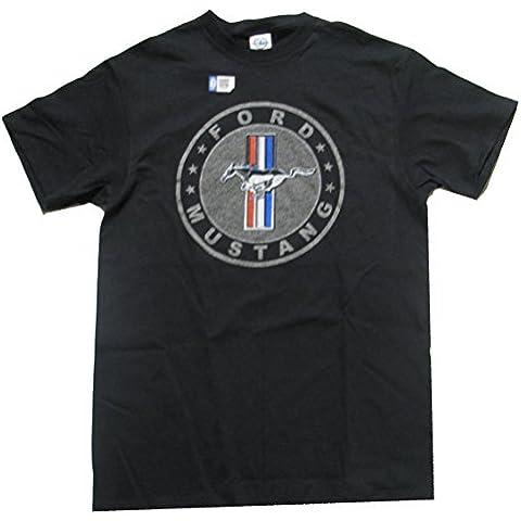 JOE BLOW Círculo de Ford Emblema de Plata–Camiseta para hombre