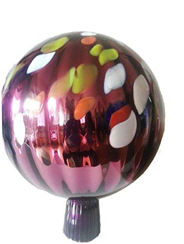 ball-glass-garden-ball-to-put-purple-multi-colored-mirrored-gazing-ball-diameter-approx-16-cm