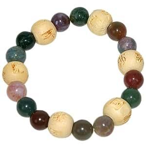 Bracelet perles de karma Kids en Agate