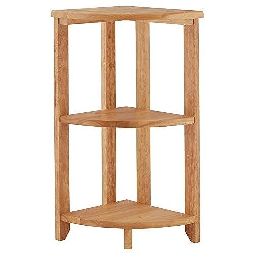 ... Small Corner Table Amazon Premier Housewares Corner Shelf Unit 3 Tier  66 X 30 X 30 ...