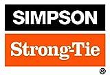 Simpson Strong Tie 10DHDG Connettore strutturale da 3 pollici con calamite a calamita liscia calibro 914-pollice 9 pollici