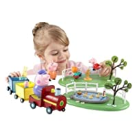 Brand New Peppa Fun In The Park Playset
