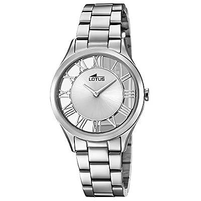 Lotus Classic 18395/1 Reloj de Pulsera para mujeres Esfera troquelada de Lotus