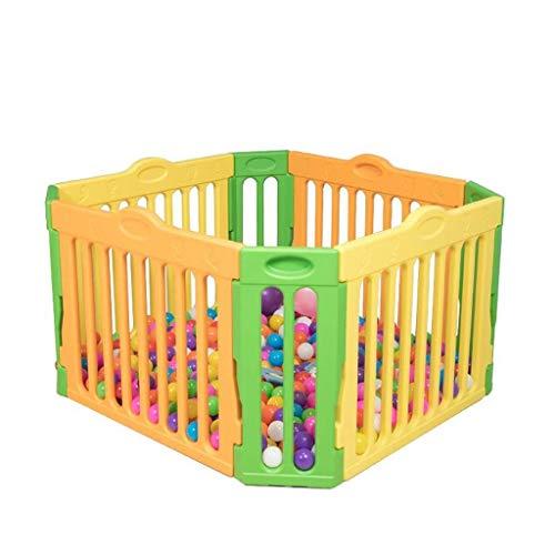 QNJM Großer Baby-Laufgitter-Laufstall, Aktivitätscenter Für Sicherheitsspiele, Baby-Tor Für Zu Hause, Drinnen, Draußen, Neuer Stift (Bälle Nicht Enthalten)