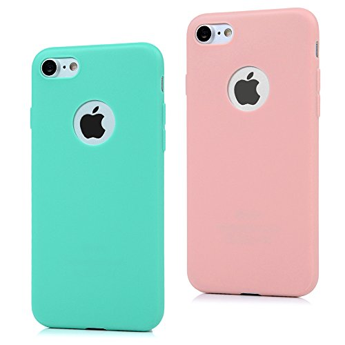 2x-cover-iphone-7-silicone-custodia-morbido-tpu-opaco-maxfeco-case-antiscivolo-satinato-ultra-sottil