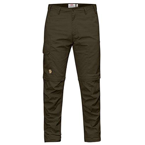 FJÄLLRÄVEN Karl Pro Zip-Off Trousers Hose, Herren, Herren, 81463_60, Grün (Dark Olive), 60 -