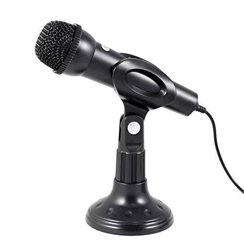 Yeshai3369 Mikrofon für PC/Laptop / Skype MSN Voice Input (3,5 mm Sound) Multi