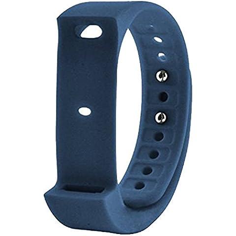 COOSA Reemplazo de banda ajustable de silicona de correas para I5 plus pulsera inteligente smartwatch (reemplazo