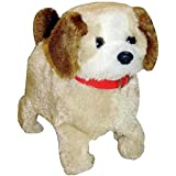 CuteToolKidz Fluffy Adorable Jumping Puppy | Features Include Barking, Waging Tail, Walking And Jumping | Best For Toddlers And Kids