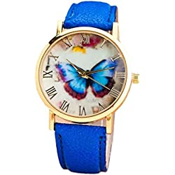 Watch, Tonwalk Womens Cute Butterfly Style Analog Quartz Wrist Watch