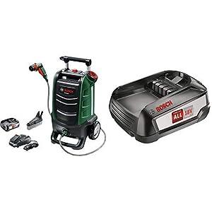 Bosch hidrolimpiadora de exteriores de una batería Fontus, sistema de 18V, presión máxima de 15 bar, depósito de agua de 15 l, en caja