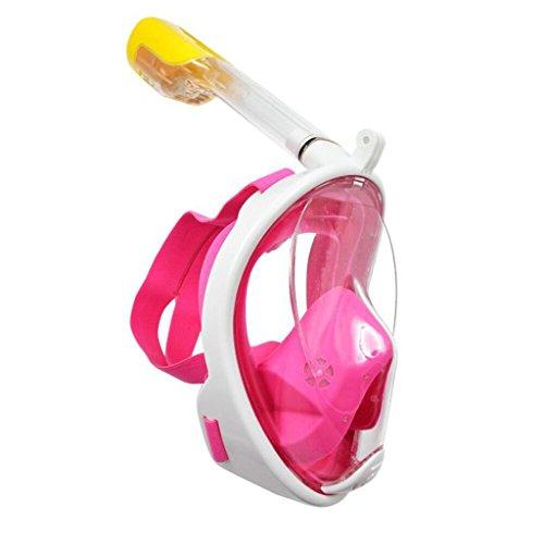 TGDY Schnorchel Maske Full View 180 Grad Vollgesicht Schnorcheln Schnorcheln Masken Tauchen Maske Erwachsene Und Kinder Sicherheit Tauchen,B,S/M