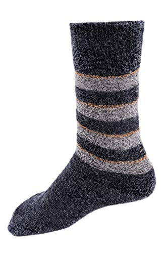 RC. ROYAL CLASS Boys Calf Length Towel Thick Woolen Blend Socks (Pack of 5 Pairs) (2-3 Years)(Multicoloured)