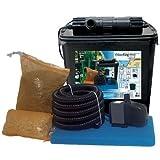 HEISSNER Smartline HSF 6500 Teichaußenfilter mit UVC+Pumpe,...