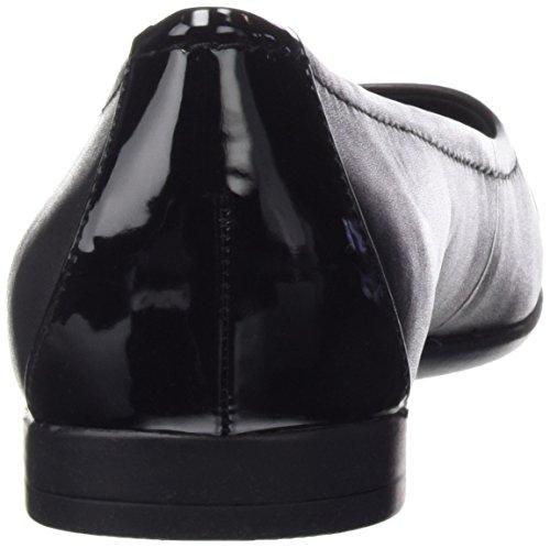 Clarks Atomic Haze, Baskets Basses Femme Noir (Black Combi Lea)
