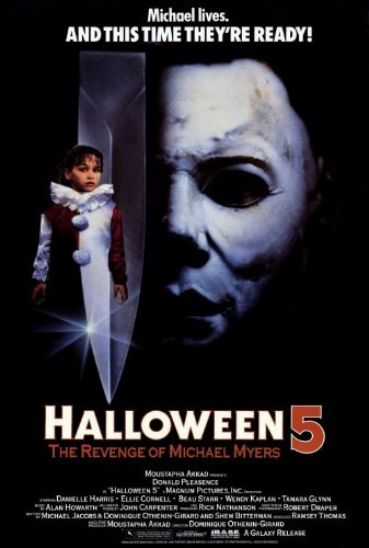 (Halloween 5: The Revenge of Michael Myers Plakat Movie Poster (27 x 40 Inches - 69cm x 102cm) (1989))