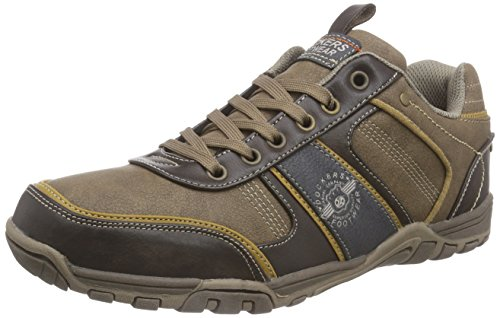 Dockers by Gerli 37ao001-600383, Baskets Basses Homme Marron (Dunkelbraun/multi 383)