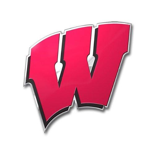 Preisvergleich Produktbild Team ProMark NCAA Wisconsin Badgers Die Cut Farbe Automarke Emblem