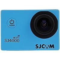 SJCAM Multi-funzione Wi-fi SJ4000 HD 1080P Impermeabile Video Registratore Digitale videocamera DVR,12 Mega pixel,170° HD grandangolare,Multicolore,con impermeabile Custodia Multiplo Mounts, - Blu