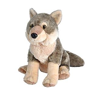 Wild Republic Europe ApS 10963 Wild Republic Wolf Plush Soft, Cuddlekins Cuddly Toys, Gifts for Kids 30cm